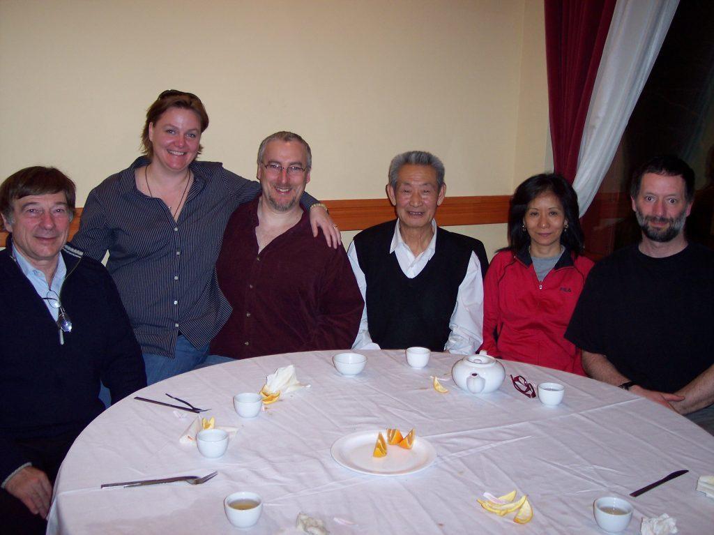 Repas avec Maître Guo Guizhi, Montréal