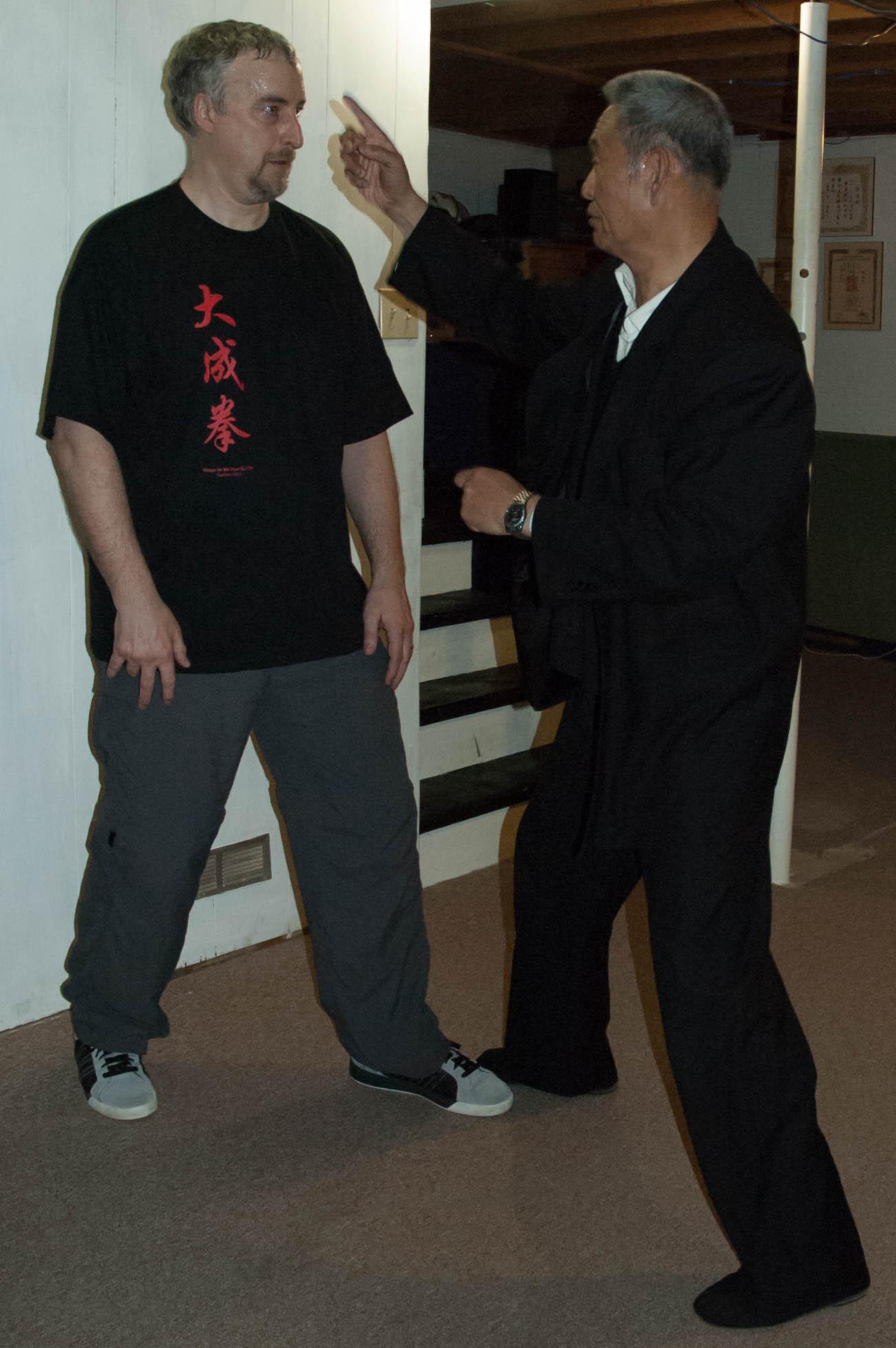 Me Guo Guizhi enseigne son dachengquan