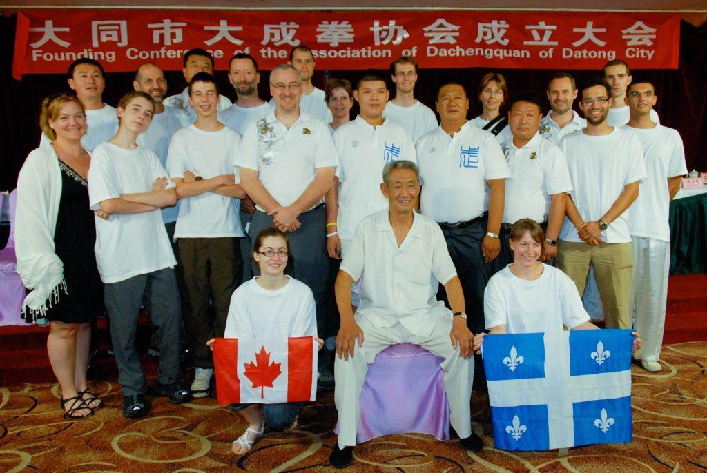 Groupe Munndialarts avec Maître Guo Guizhi, Chine