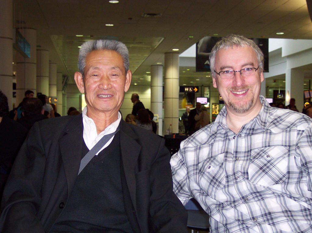 Maître Guo Guizhi et Philippe Munn, Montréal
