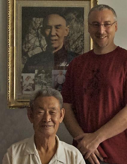 Maître Guo Guizhi et Philippe Munn