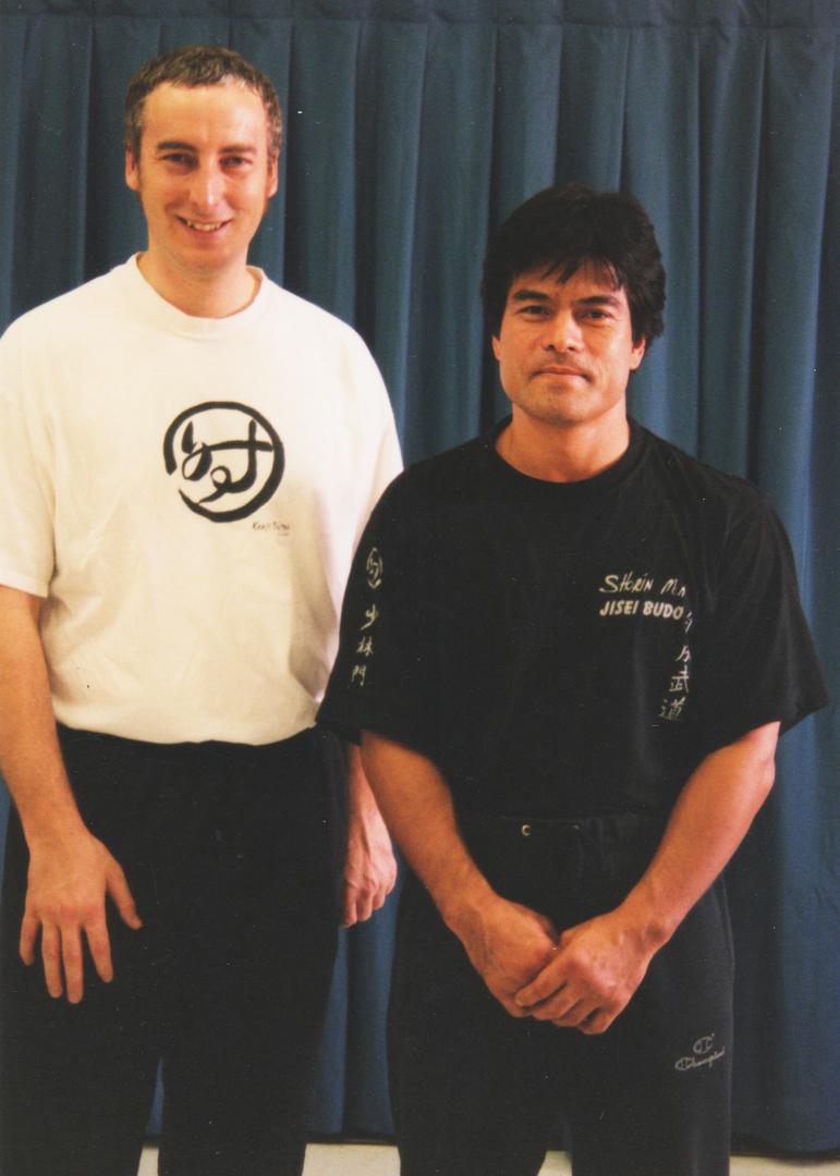 Philippe Munn et Maître Kenji Tokitsu
