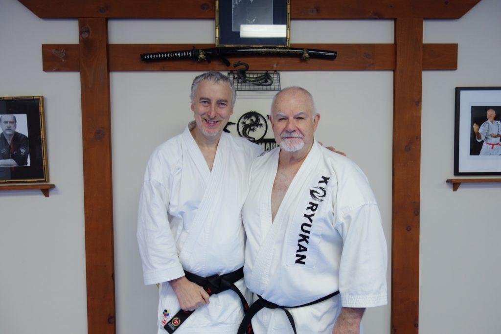 Philippe Munn & sensei Patrick McCarthy, 2018