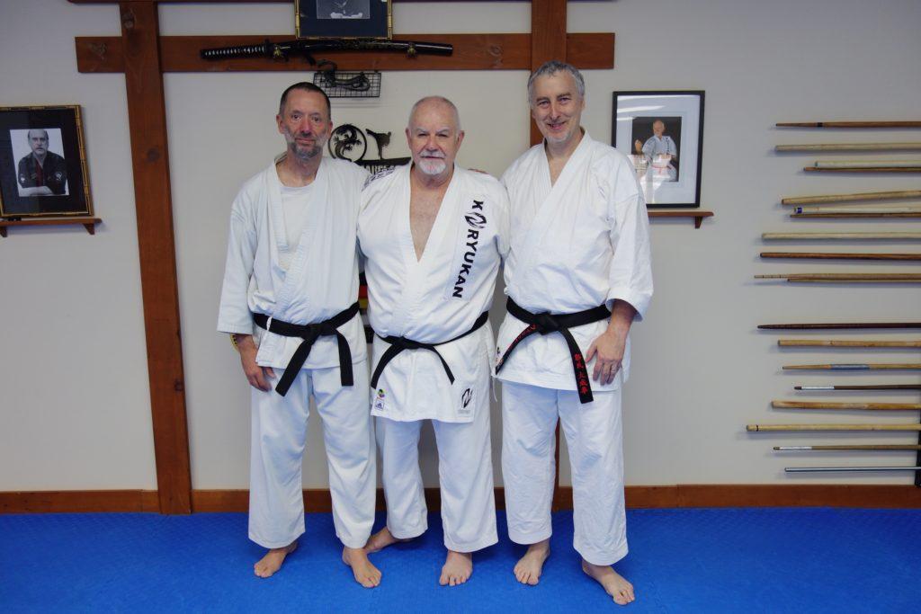 Marc Dagenais, Philippe Munn & Hanshi Patrick McCarthy
