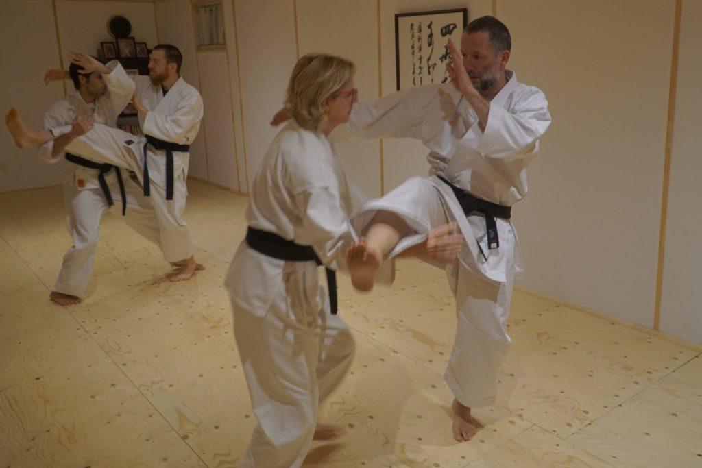 Karate-jutsu à l'école Munndialart