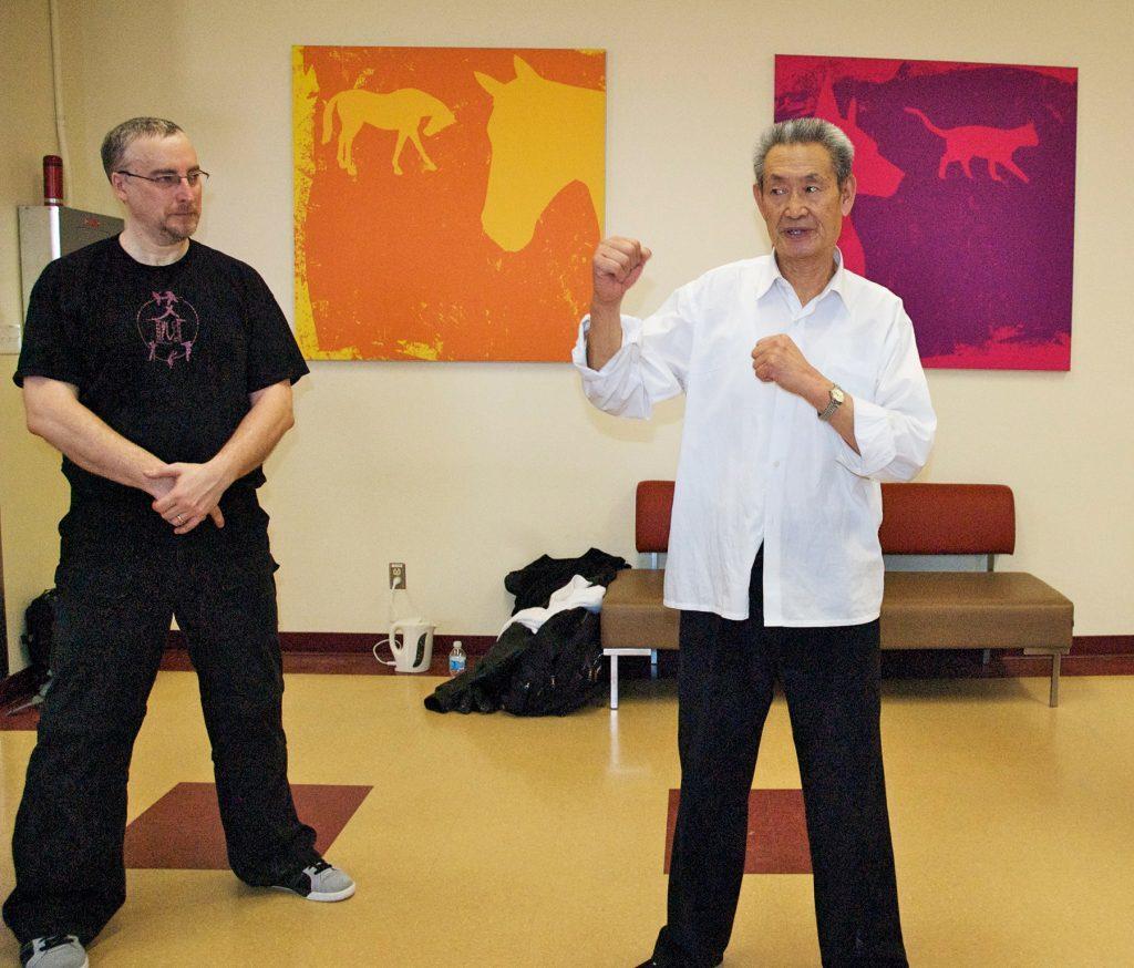 Stage de dachengquan avec Maître Guo Guizhi