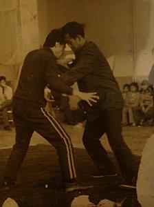Chang Zhilang et Guo Guizhi tuishou, Chine circa 1980