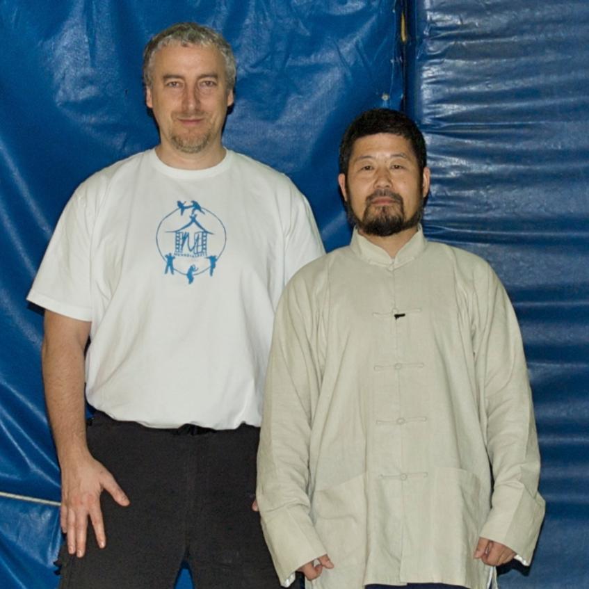 Maître ChenZhonghua & Philippe Munn