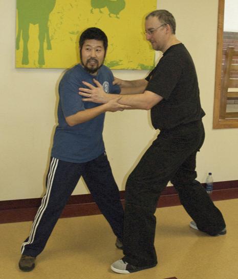 Maître Chen Zhonghua & Philippe Munn, Québec