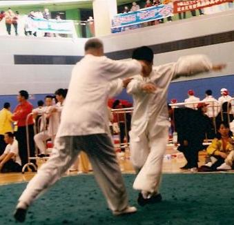 Me Guo Guizhi & son disciple Fengxi, Hong Kong 2011