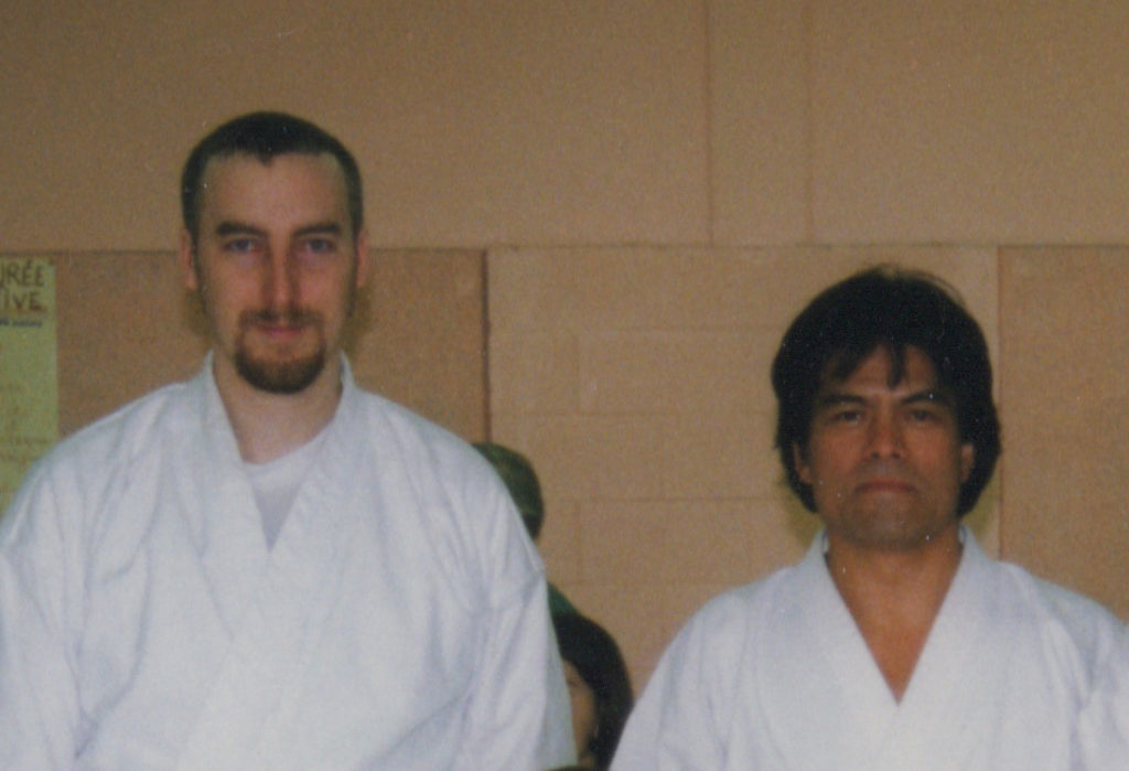 Philippe Munn & Sensei Kenji Tokitsu, 1998