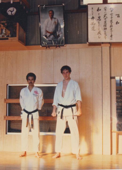 Maître Chitose et Philippe Munn Japon