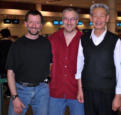 Maître Guo Guizhi et Philippe Munn et Marc Dagenais, Montréal
