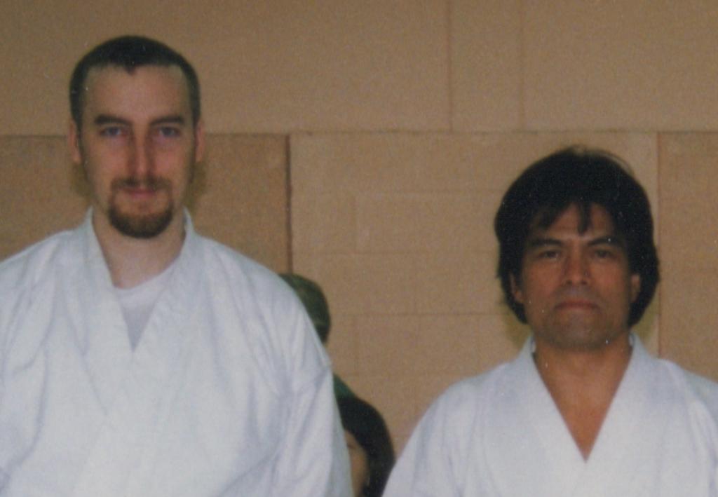 Maître Kenji Tokitsu et Philippe Munn