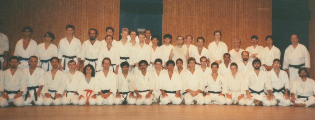 Stage avec Maître Kenji Tokitsu en France