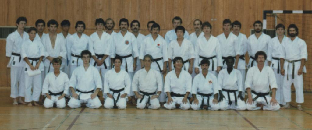 Stage avec Maître Nishiyama