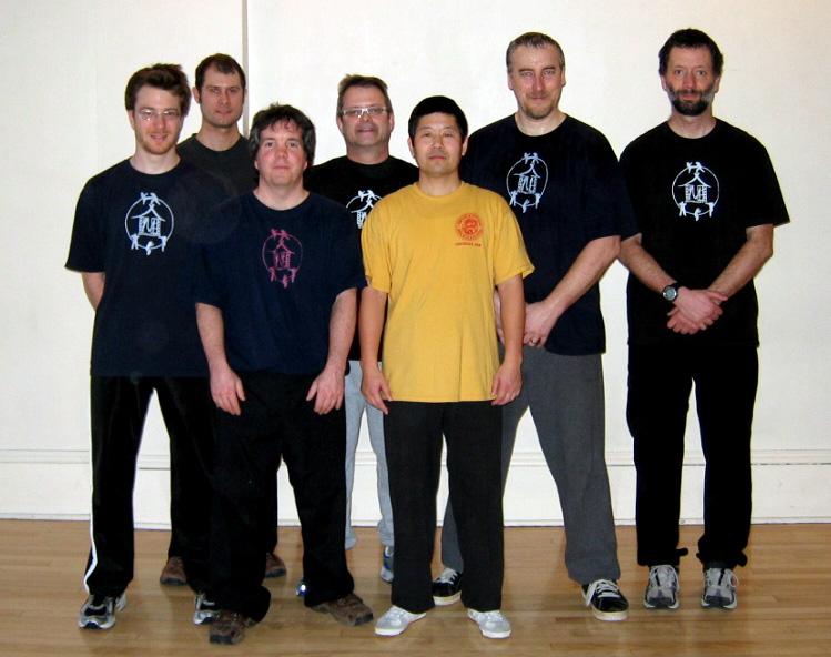 Groupe Munndialarts avec Me Chen Zhonghua