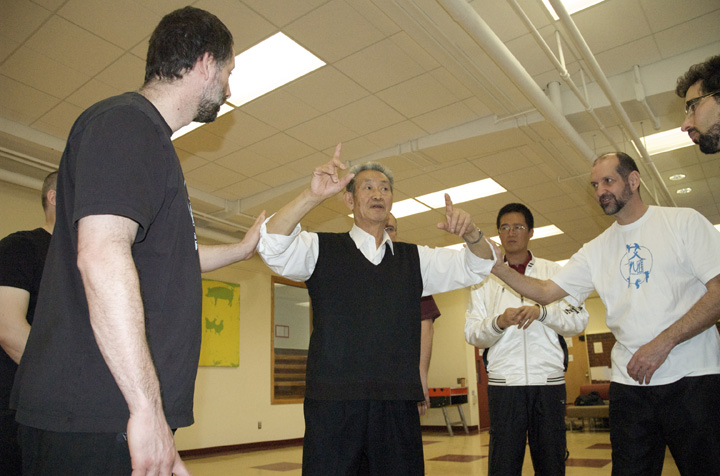 Maître Guo Guizhi en stage au Québec