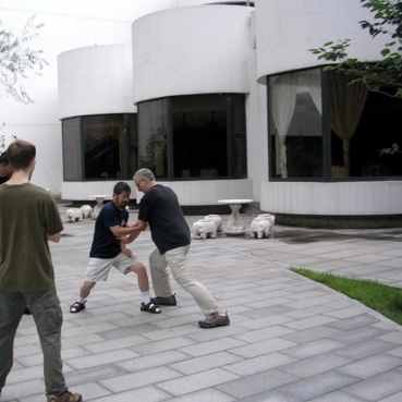 Me Chen Zhonghua & Philippe Munn à Beijing, Chine