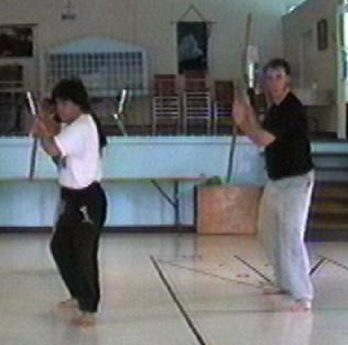 Me Kenji Tokitsu & Philippe Munn jo-jutsu