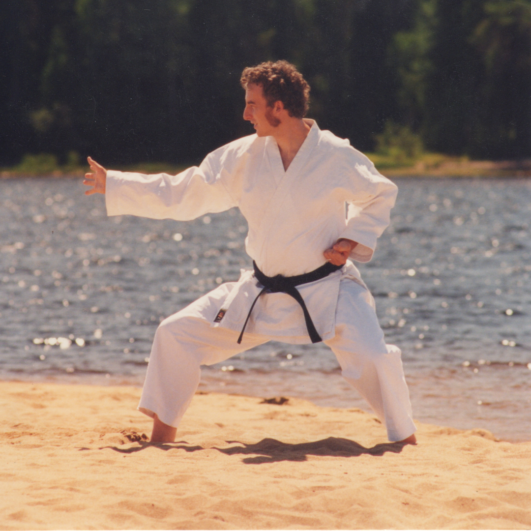 Technique de karate-justu