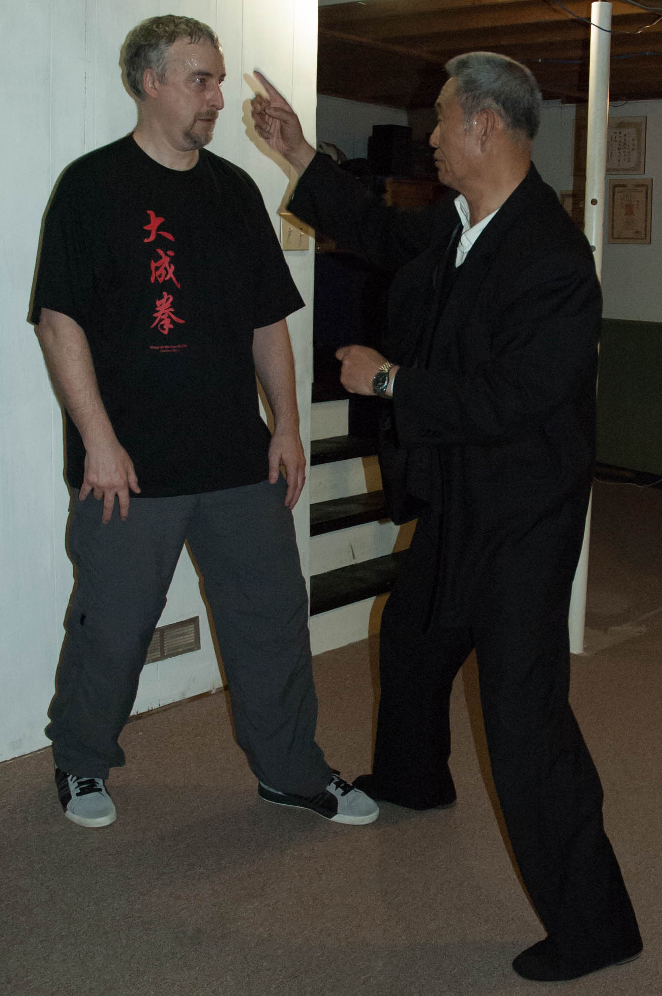 Philippe Munn and Master Guo Guizhi