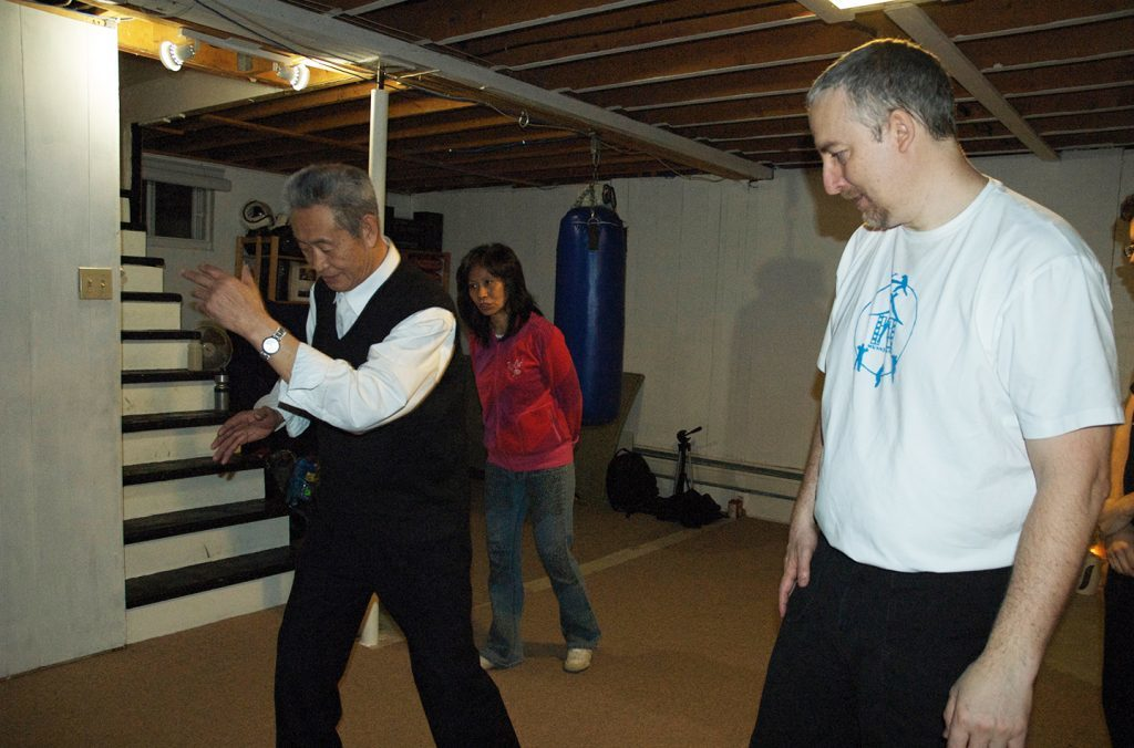 Training with Master Guo Guizhi