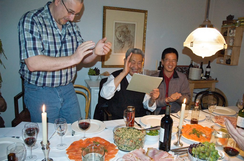Diner with Master Guo Guizhi, Montreal