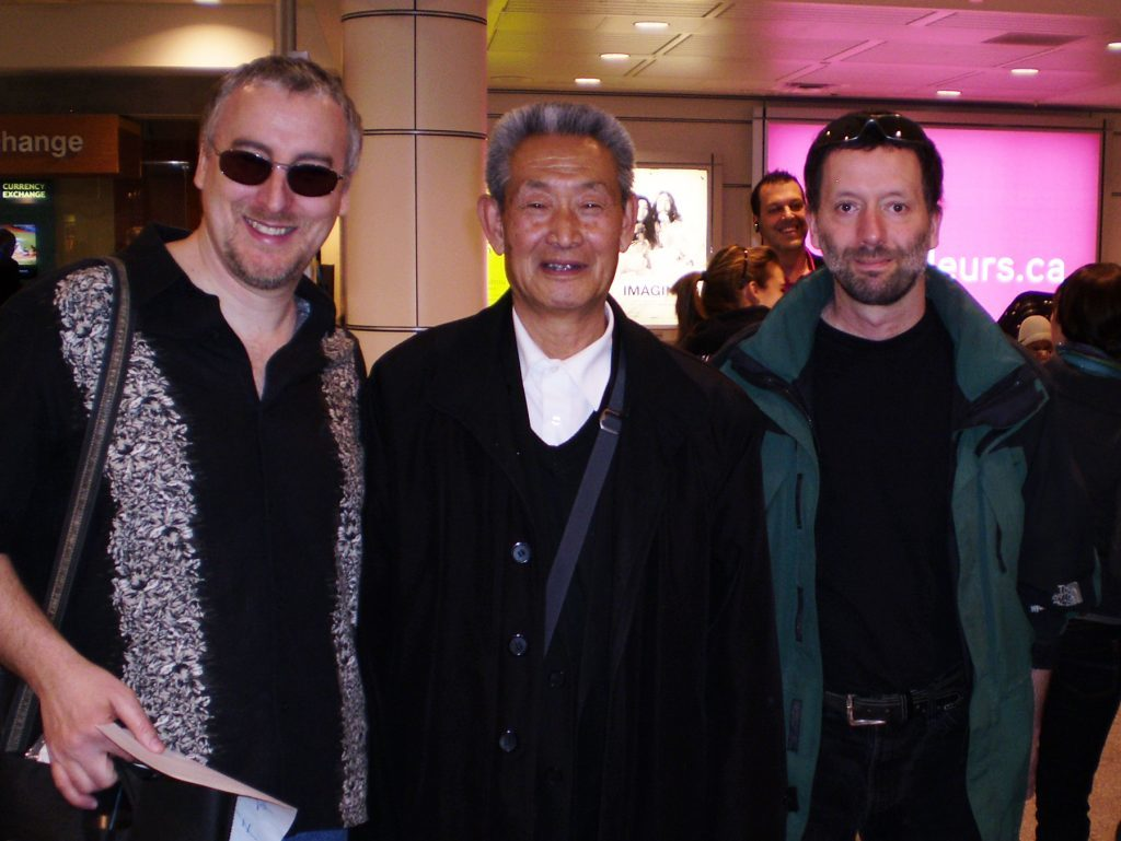 Master Guo Guizhi and Philippe Munn, Montreal
