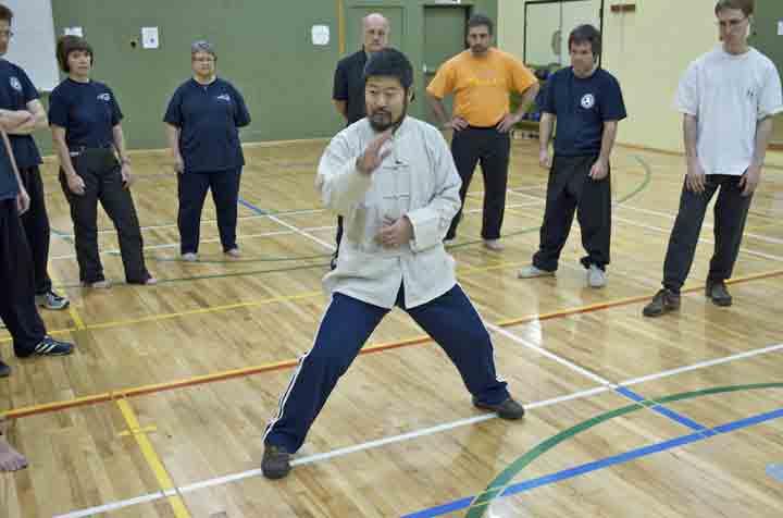 Master Chen Zhonghua teaching workshop in Montreal