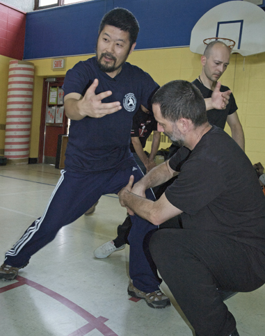 Master Chen Zhonghua giving a workshop in Montreal