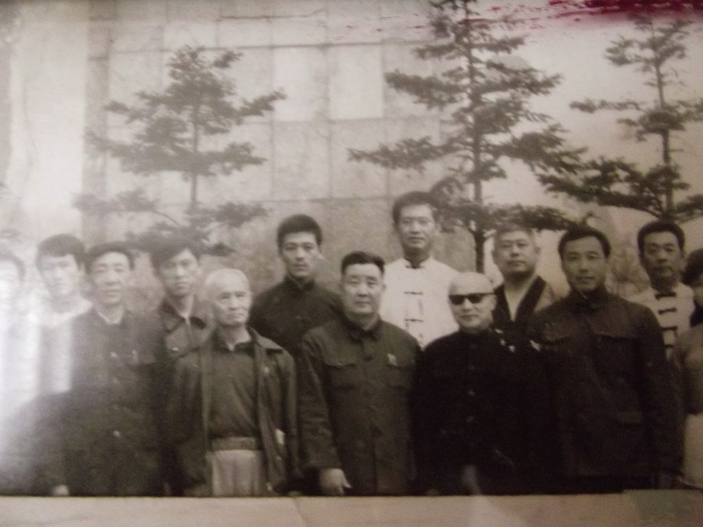 Wan Leisheng (2nd 1st row) & Guo Guizhi (second row in white)
