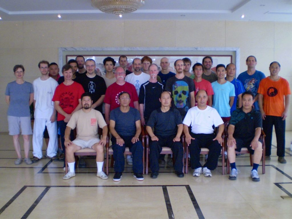 Chen taijiquan event at daqingshan training resort, China 2010