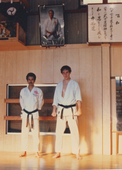 Master Chitose and Philippe Munn Japan