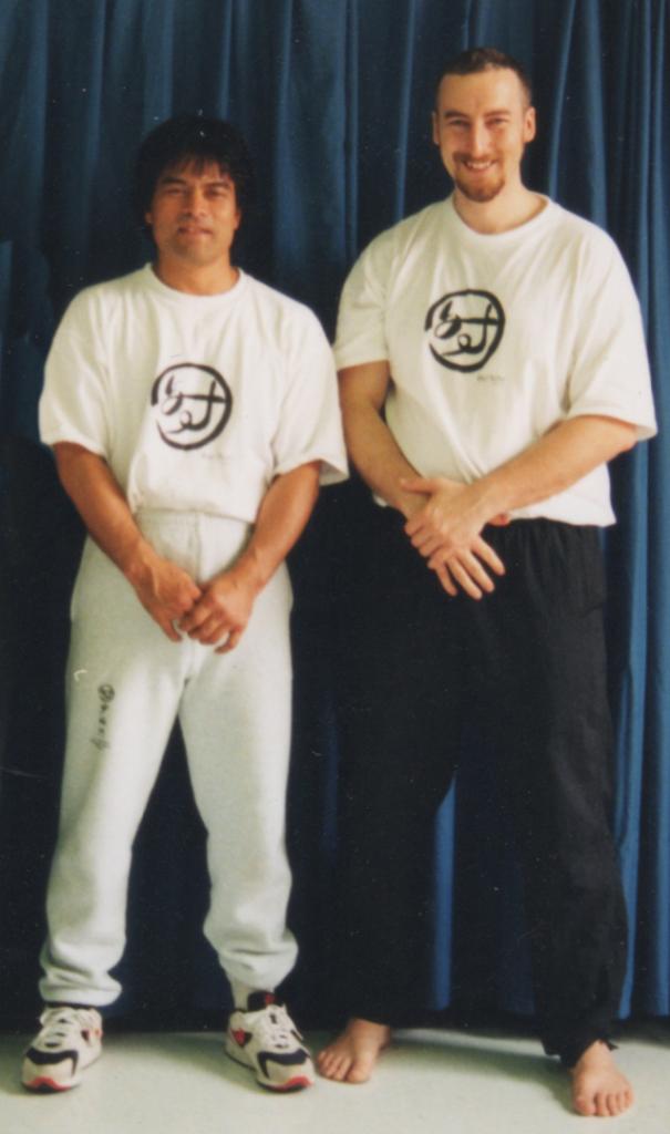 Master Kenji Tokitsu and Philippe Munn