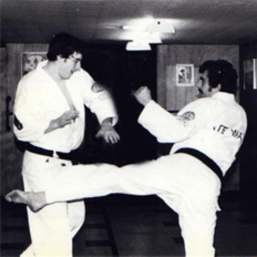 Philippe Munn 7 Robert Paquette kumite
