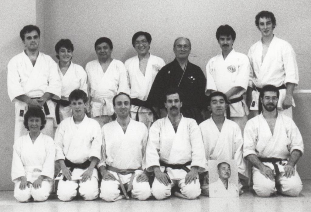 Workshop with master Tashiro et Chitose