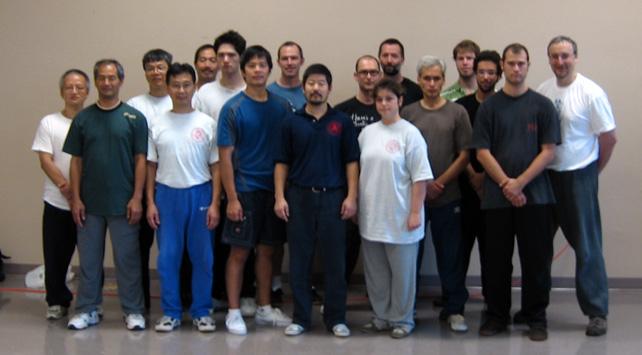 Workshop with Master Chen Zhonghua