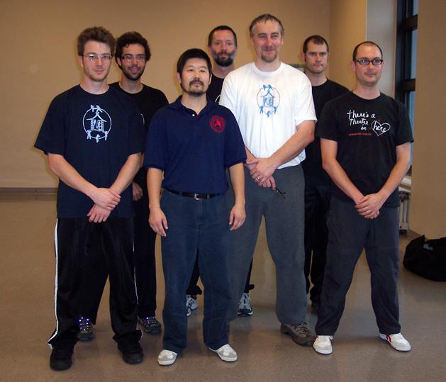 Munndialarts group with master Chen Zhonghua