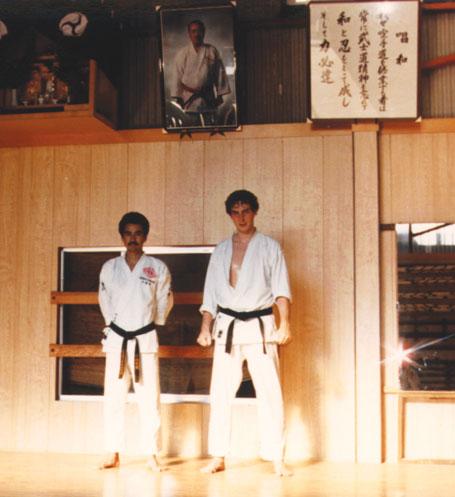 Philippe Munn & Me Yasuhiro Chitose, Japon
