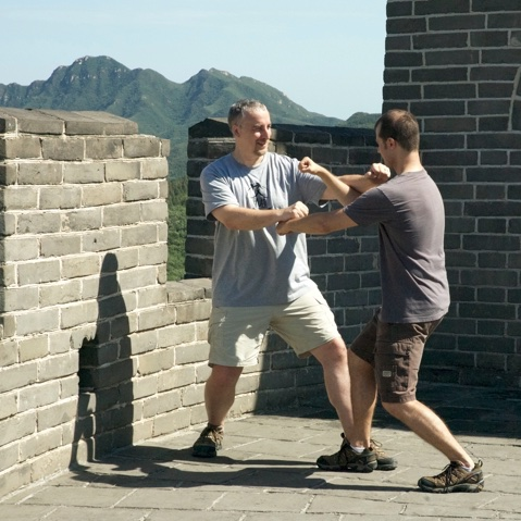 dachengquan Great Wall tuishou