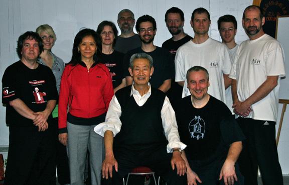 Master Guo Guizhi at the Munndialarts school