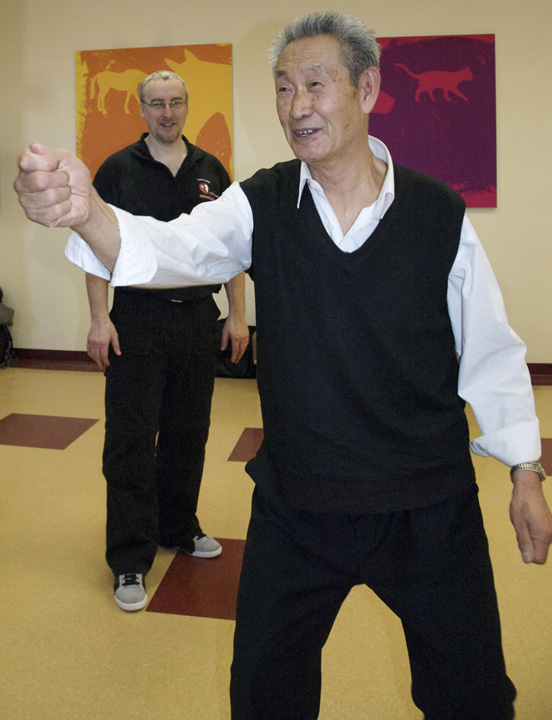 Workshop with Master Guo Guizhi