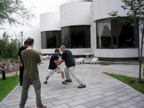 Training with Master Chen Zhonghua in Beijing China