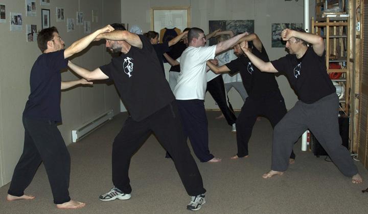 Training at the Munndialarts school 15 years ago