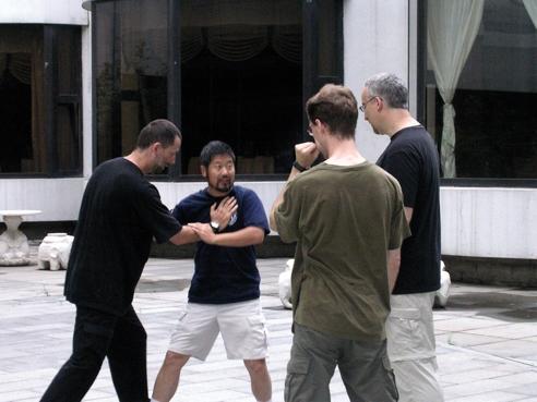 Training in Beijing
